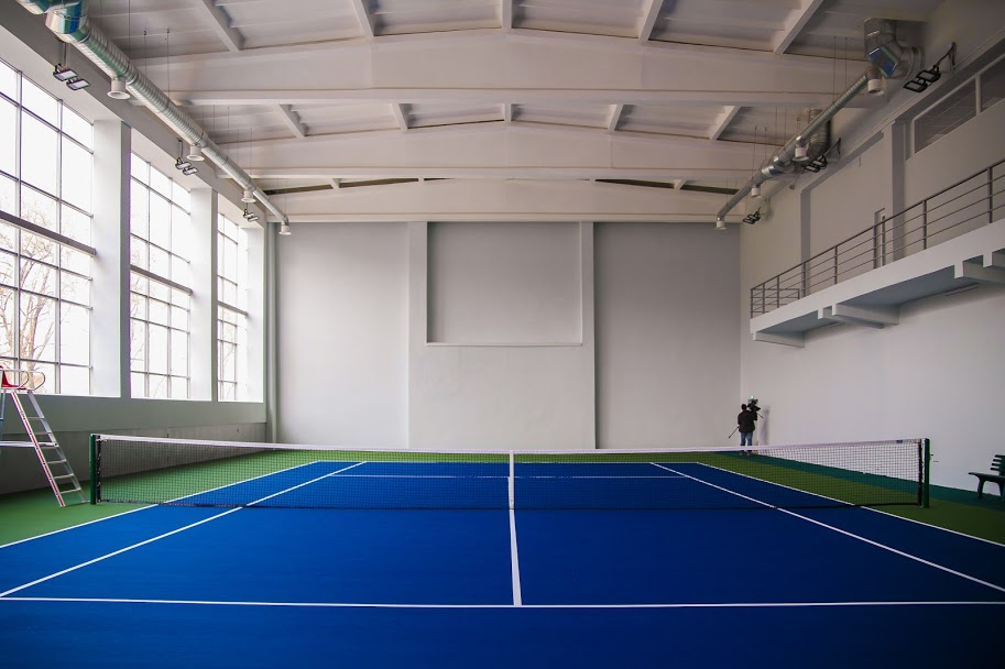 Для тренувань – три зали