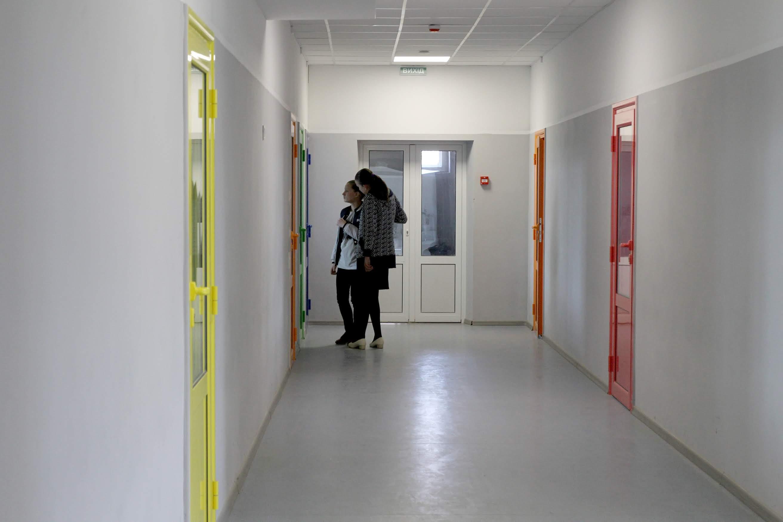 Сучасного вигляду набули коридори