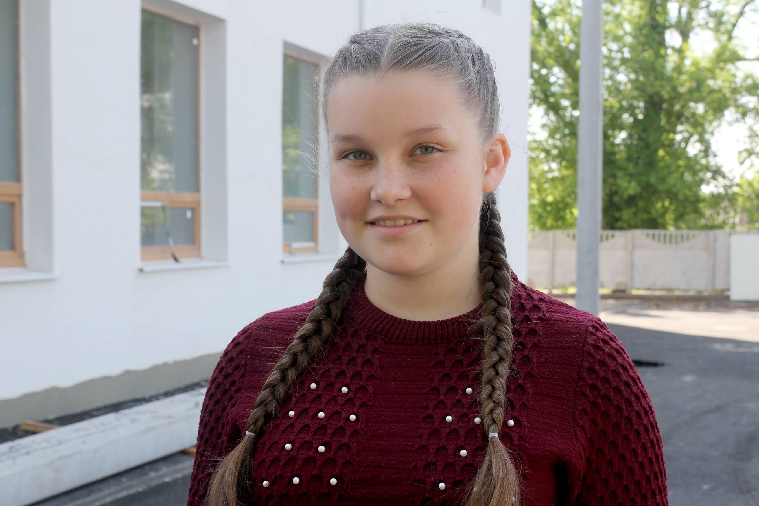 «Наша школа так змінюється, що подих перехоплює. Думаю, бажання ходити до неї буде ще сильнішим», – розказала Олена Манилова.
