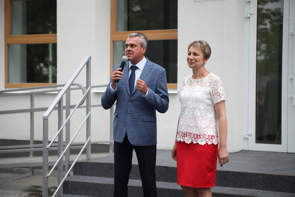 Олег Кужман: «Після реконструкції школа №7 - сучасна та комфортна. Такі заклади з'являються по всій області»