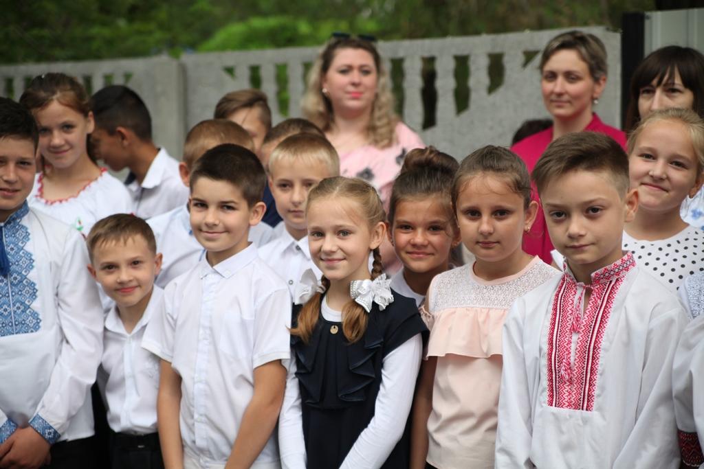 Учні школи - майже 300 дітей