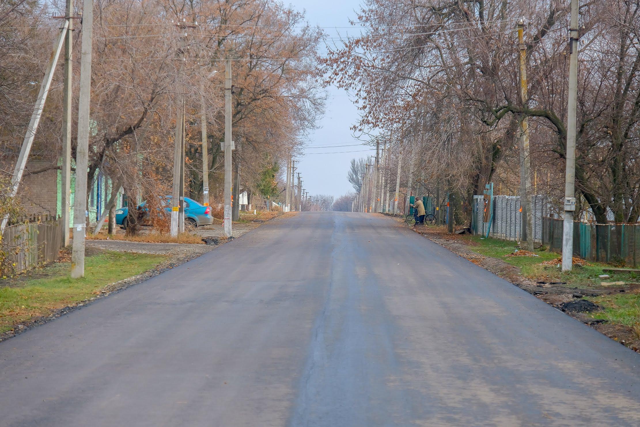 Цьогоріч на капремонт доріг із облбюджету виділили майже 1 млрд грн.