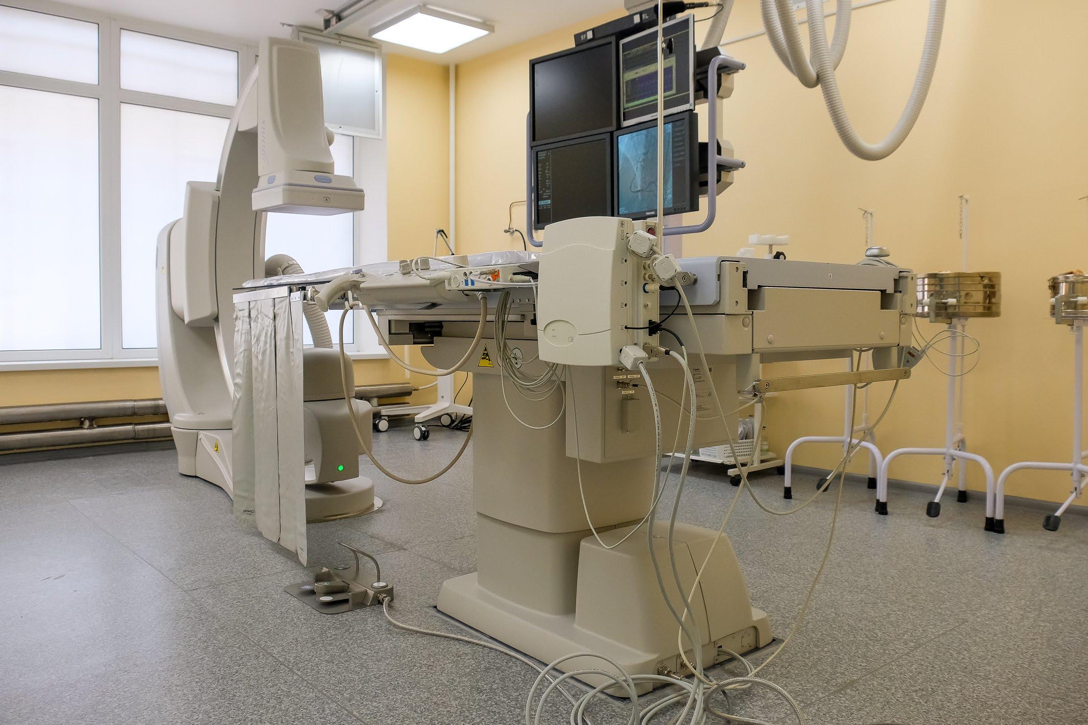 Обласний кардіологічний центр обладнали найсучаснішим ангіографом.