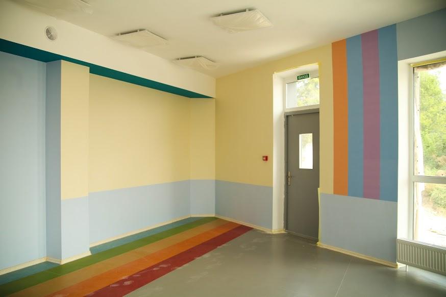 Просторі кімнати та коридори